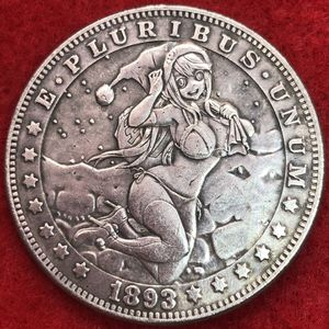 Anime Santa Claus coin. Tibetan silver. Last one available. First $20 offer automatically accepted. Shipped same day for Sale in Portland, OR