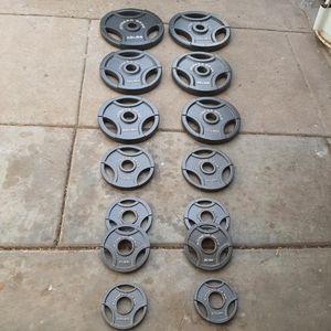 (BRAND NEW) Fitness Gear Olympic Weight Set 255lb [Read Description] for Sale in Phoenix, AZ