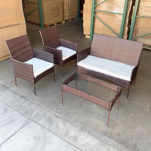 $190 (brand new) small 4pcs patio furniture set for Sale in Whittier, CA