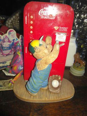 Collectable coca cola bear statue for Sale in Mesa, AZ