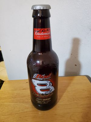 Dale Earnhardt Jr collector's bottle for Sale in Tacoma, WA