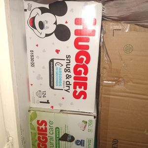 Huggies Size 1 for Sale in Carson, CA