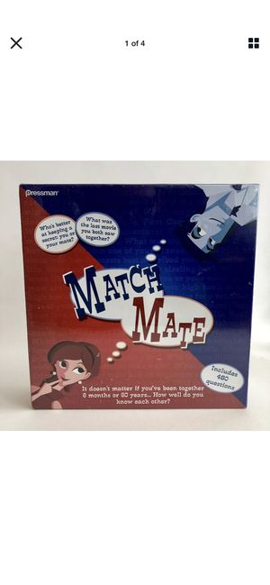 Match Mate Pressman Adult Couples Party Board Game NEW Sealed for Sale in Long Beach, CA