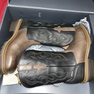 Lucchese Work Boots Sz 12(steel Toe) for Sale in Dallas, TX