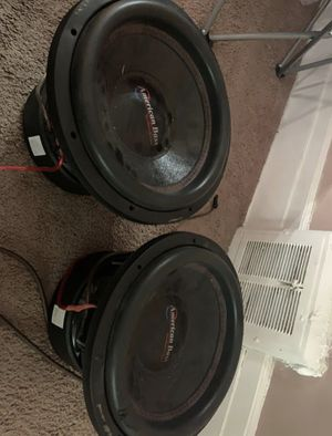 Competition American bass 12s for Sale in Cleveland, OH