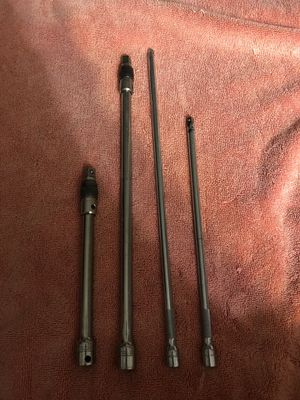 2 MATCO extension dive looking socket/ ratchet extension and 2 Snap-on extension for Sale in Costa Mesa, CA