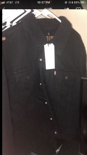 Levi's Black Denim Jacket for Sale in Tracy, CA