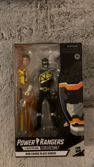 Power Rangers Lightning Collection Dino Charge Black Target Exclusive for Sale in Downey, CA