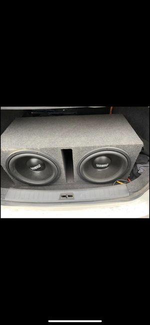2 15 sundown audio speakers for Sale in Pittsburgh, PA
