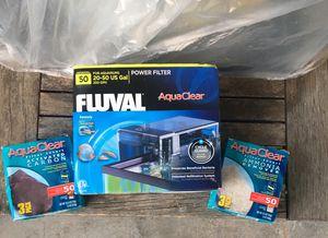 Aquarium power filter for Sale in Redlands, CA