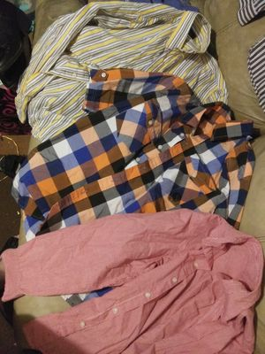 12 boys button ups size 14/16 for Sale in Jackson, MS