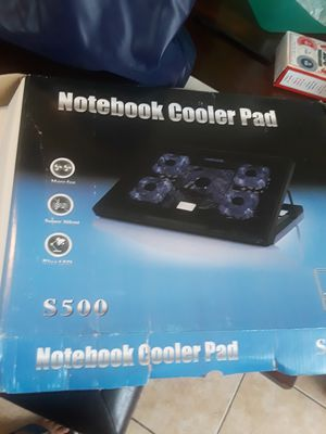 Notebook cooler pad for Sale in Jersey City, NJ