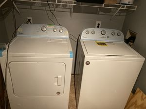 Whirlpool washer and dryer. Less then two years old. Barely used. for Sale in Yardley, PA