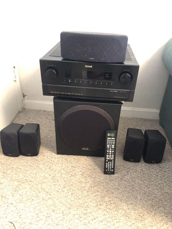 Sherwood Receiver & Surround Sound Bundle