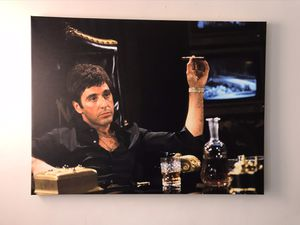 Alpacino SCARFACE LARGE CANVAS PRINT WALL ART SIZE 30x40 for Sale in Philadelphia, PA