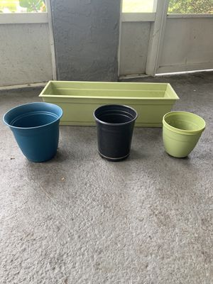 Plant pots for Sale in St. Petersburg, FL