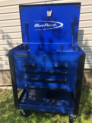BLUE POINT 5 DRAWER TOOLBOX for Sale in Chestertown, MD