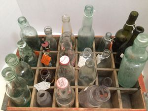 Collectible glass bottles for Sale in Las Vegas, NV