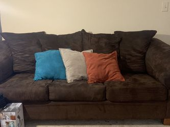BROWN SOFA AND LOVESEAT for Sale in Stonecrest,  GA