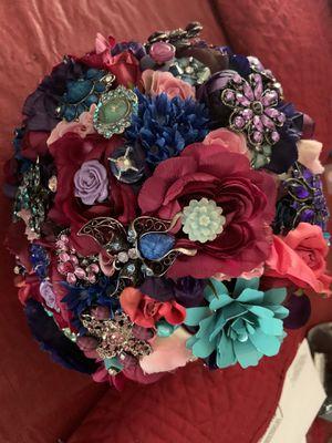 Custom Made Wedding Bouquet for Sale in San Antonio, TX