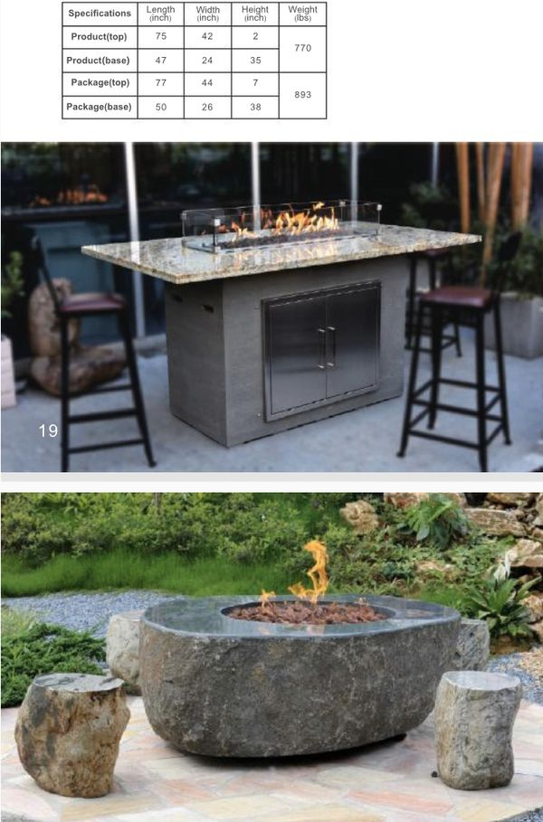 Gas fire pits wholesale direct for Sale in Huntington ...
