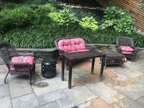 Patio furniture- with cushions