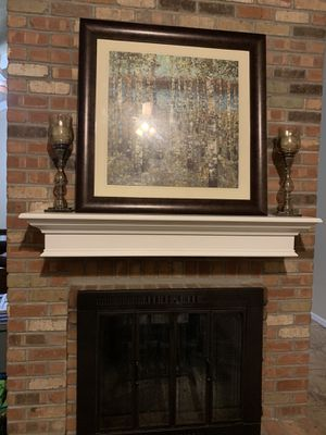 White Wooden Mantle for Sale in Tempe, AZ