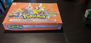 Pokemon Master Trainer Board Game Milton Bradley 2005 for Sale in Peoria, AZ