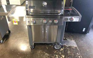Brand New Weber Genesis ll Grill JX J for Sale in Fort Worth, TX