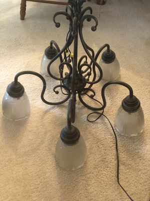 Chandelier and shelves for Sale in Duluth, GA
