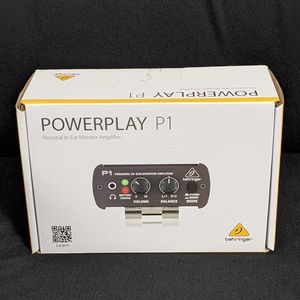 Behringer P1 Personal In Ear Amplifier for Sale in San Diego, CA