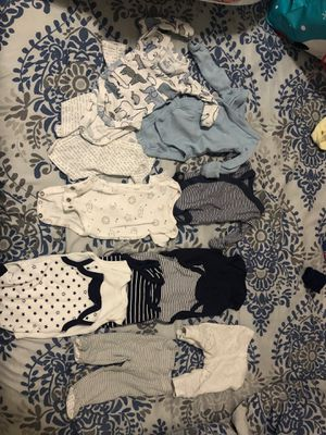 Preemie baby boy clothes for Sale in San Jose, CA