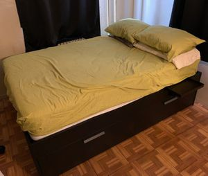 Full size bed frame and mattres for Sale in The Bronx, NY