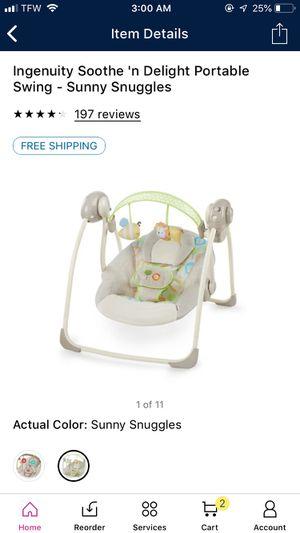 Infant Swing for Sale in Norfolk, VA