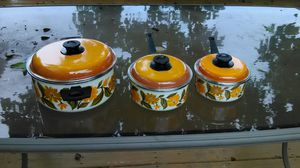 Cooking pan set of three for Sale in Middle River, MD