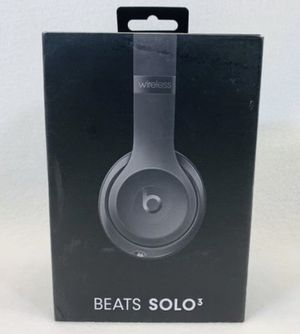Beats Solo 3 Wireless Bluetooth Headphones for Sale in Grand Prairie, TX