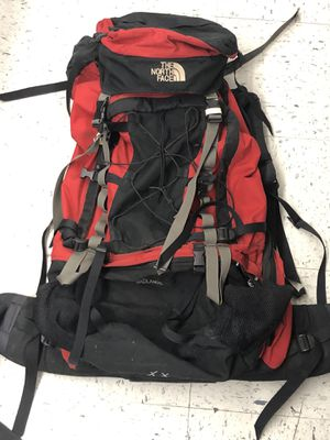The North Face Badlands Hiking Backpack Medium Red for Sale in Portland, OR