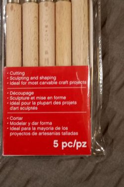 Craft Smart Carving/Sculpting 5 pc.Tool Set for Sale in Gainesville,  FL