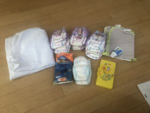 Free Toddler diapers, changing, mattress gear for Sale in Chula Vista, CA