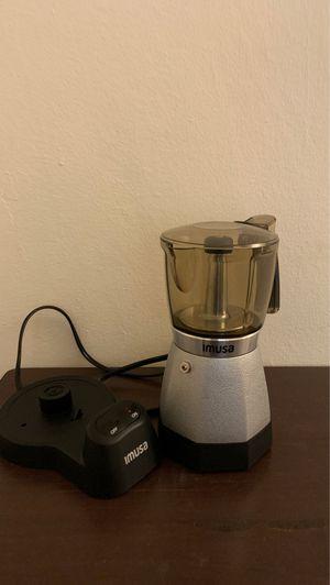 Imusa electric espresso maker 6 cups gray for Sale in Coral Gables, FL