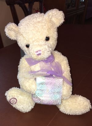 New plush/stuffed birthday bear for Sale in Banning, CA