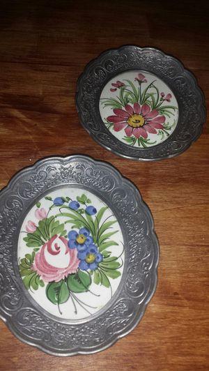 Vintage ceramic plates for Sale in Apex, NC