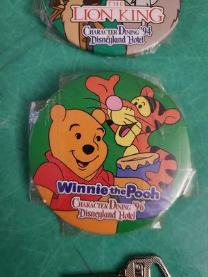 1994 1996 Walt Disney Pins Character Dining Disneyland Hotel Winnie The Pooh Tigger timon pumba for Sale in Hemet, CA