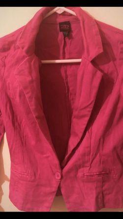 B2b Bebe Small pink lovers blazer for Sale in Pompano Beach,  FL