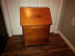 Wood bin for Sale in Chandler, AZ
