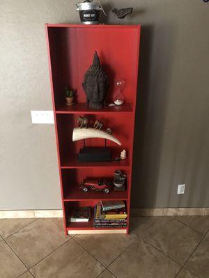 Rust orange cabinet/shelf for sale for Sale in Phoenix, AZ