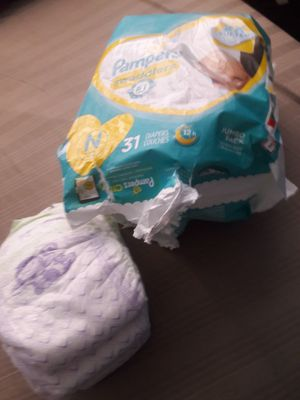 Pampers and Luvs newborn diapers for Sale in Houston, TX
