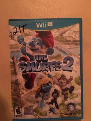 Nintendo Wii U the smurfs 2 for Sale in Visalia, CA