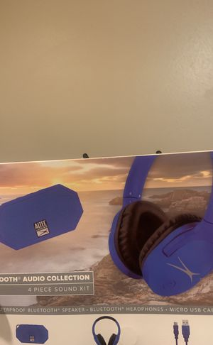 HEADPHONES-ALTEC LANSING /BLUETOOTH for Sale in San Diego, CA
