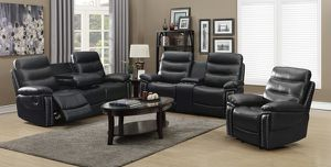 (JUST $54 DOWN) Brand New Reclining Sofa and Love Seat Set (Financing and Delivery available) for Sale in Carrollton, TX